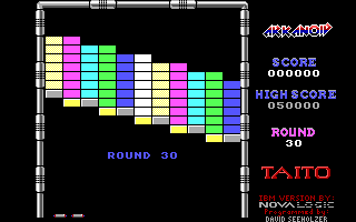 Arkanoid DOS Round 30 (Demo mode)