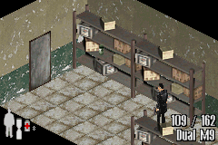 Max Payne Game Boy Advance Locked door in your path ?
