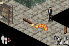 Max Payne Game Boy Advance No problem. Gas canister + Bullet = Missile = Opened door