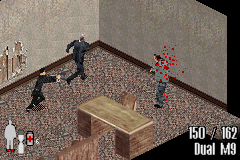 Max Payne Game Boy Advance His henchmen try to stop Max. It doesn't work, of course.