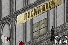 Max Payne Game Boy Advance Max's next stop, the Ragna Rock club