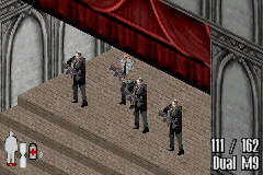 Max Payne Game Boy Advance Jack Lupino appears on the stage