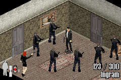Max Payne Game Boy Advance Max gets captured. Again.
