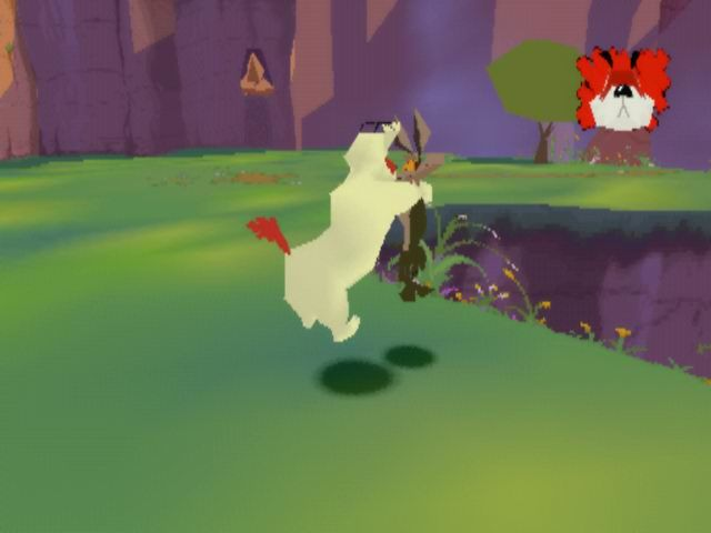 Looney Tunes: Sheep Raider PlayStation If Sam caught you... BOOM!
