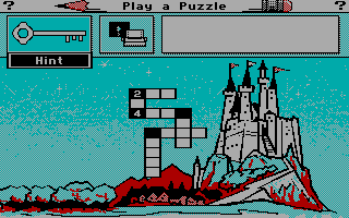 Mickey's Crossword Puzzle Maker Screenshots for DOS - MobyGames