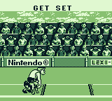 Track Meet Game Boy At the starting line