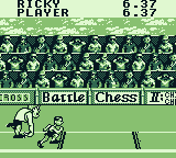 Track Meet Game Boy Check out the game advertisements in the background
