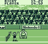 Track Meet Game Boy Won the race