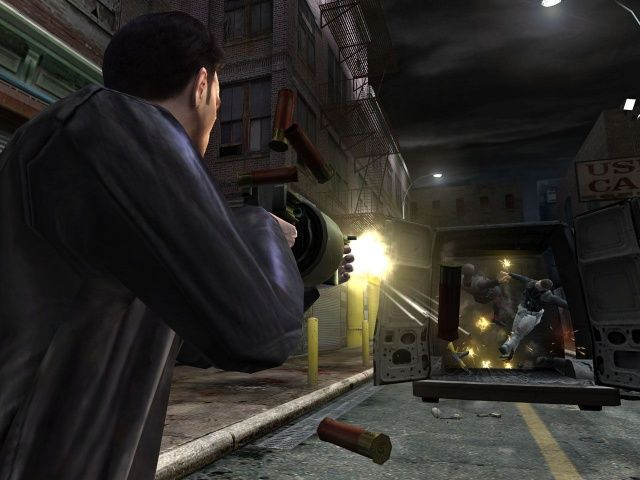 Max Payne 2: The Fall of Max Payne Windows Max has a variety of weapons
