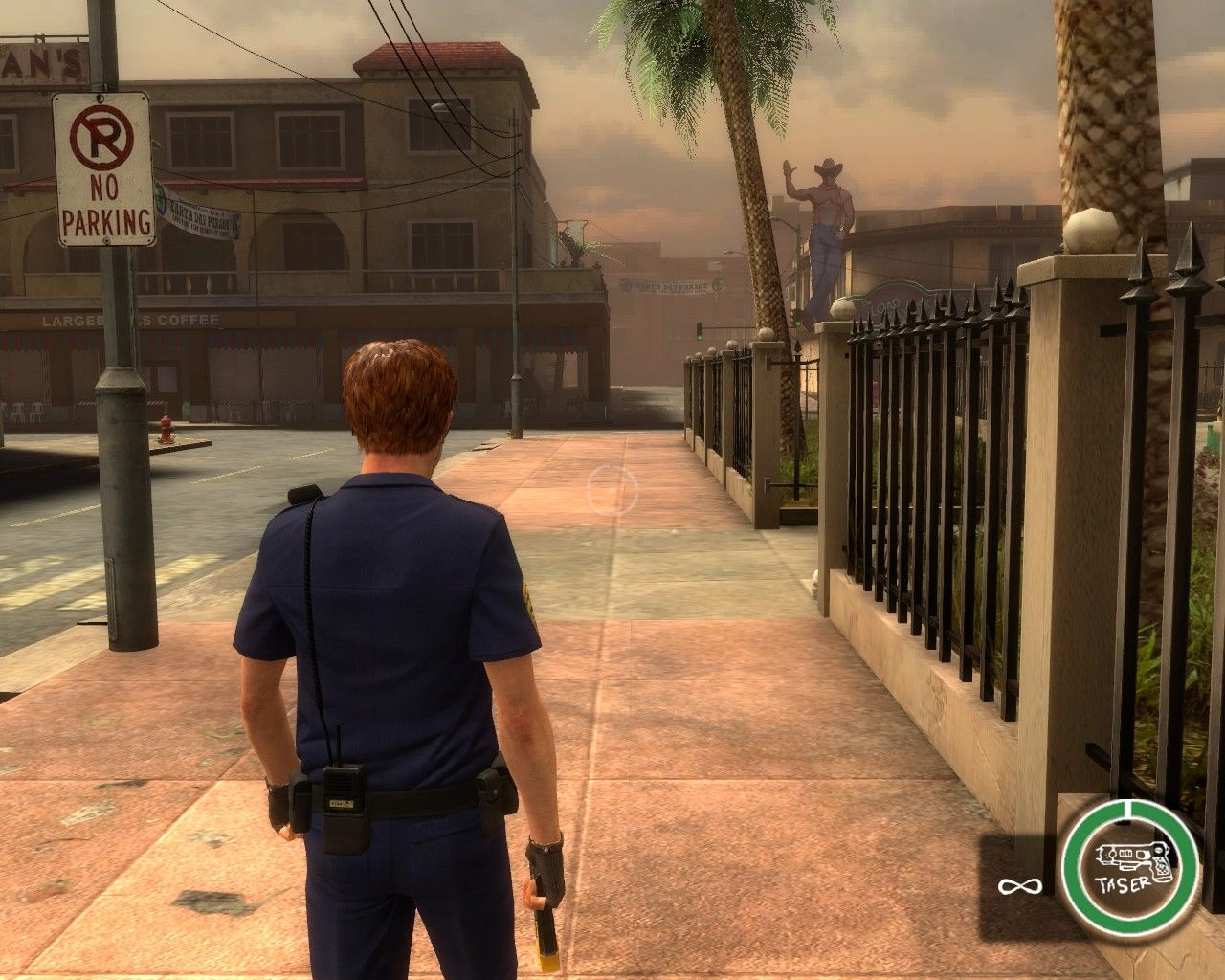 Postal III Windows A day as a Catharsis law enforcer