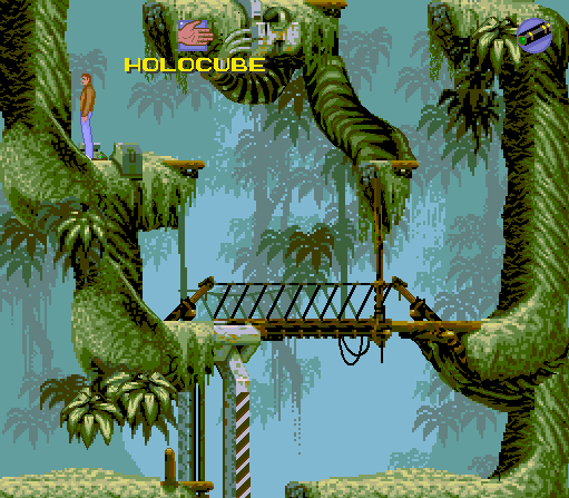 Flashback: The Quest for Identity Macintosh Level 1 - Titan Jungle