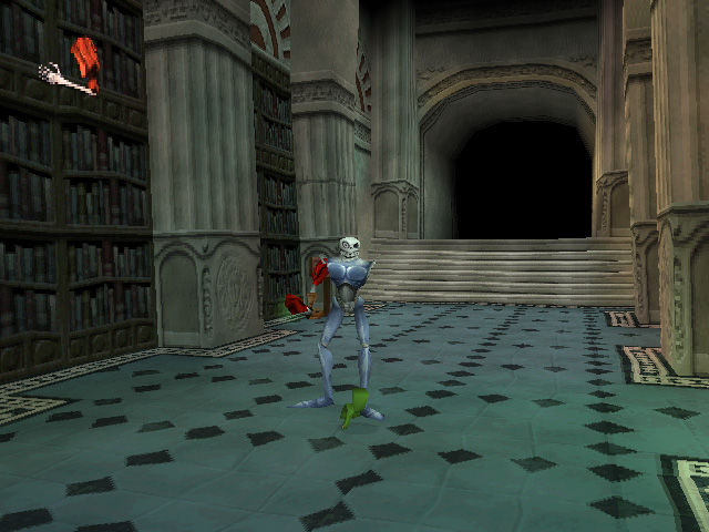 MediEvil II PlayStation In Game: Our hero and his trusty...um, arm.