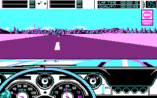 Stunt Driver DOS Wrong Way (CGA)