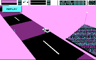 Stunt Driver DOS Replay (CGA)