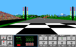 Stunt Driver DOS Replay (VGA 16 colors)