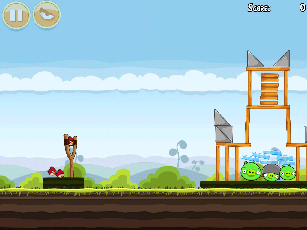 Angry Birds Screenshots for iPad - MobyGames