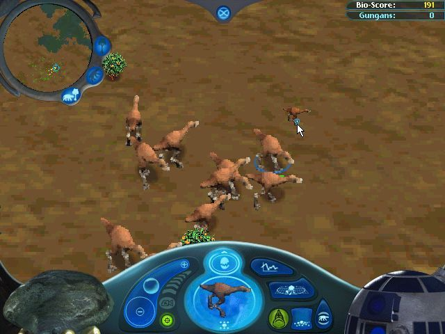 Star Wars: Episode I - The Gungan Frontier Windows Lots of Kaadu have been released. In this 'Beginner' game the ship automatically releases more food as animals are released. In the Advanced game the player must manage this.