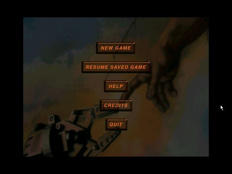Connections Windows The game's main menu. This is displayed at the start of every . It is followed by a screen giving the player the choice to play as male or female.