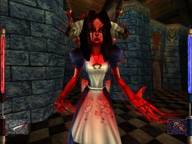 American McGee's Alice Windows ...has a really big impact on Alice