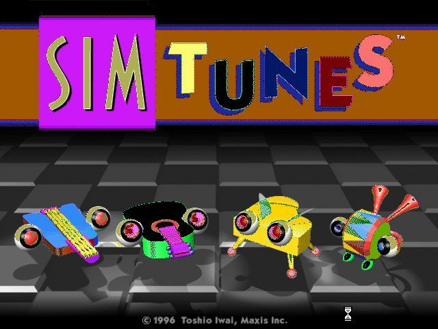 SimTunes Windows This is the title screen