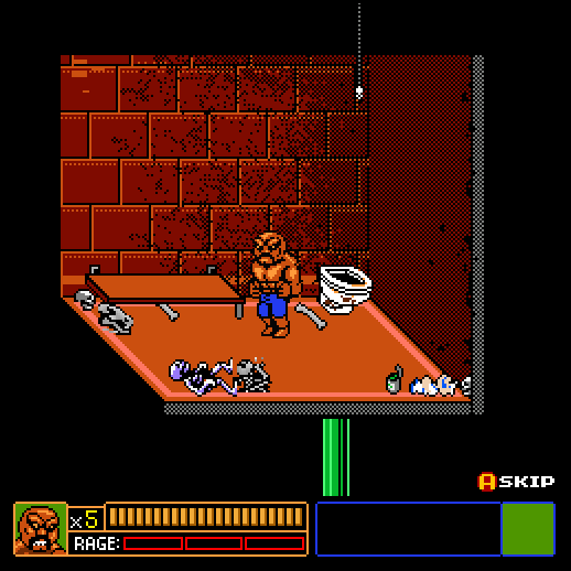 Abobo's Big Adventure Browser How do we get out of here, Abobo?