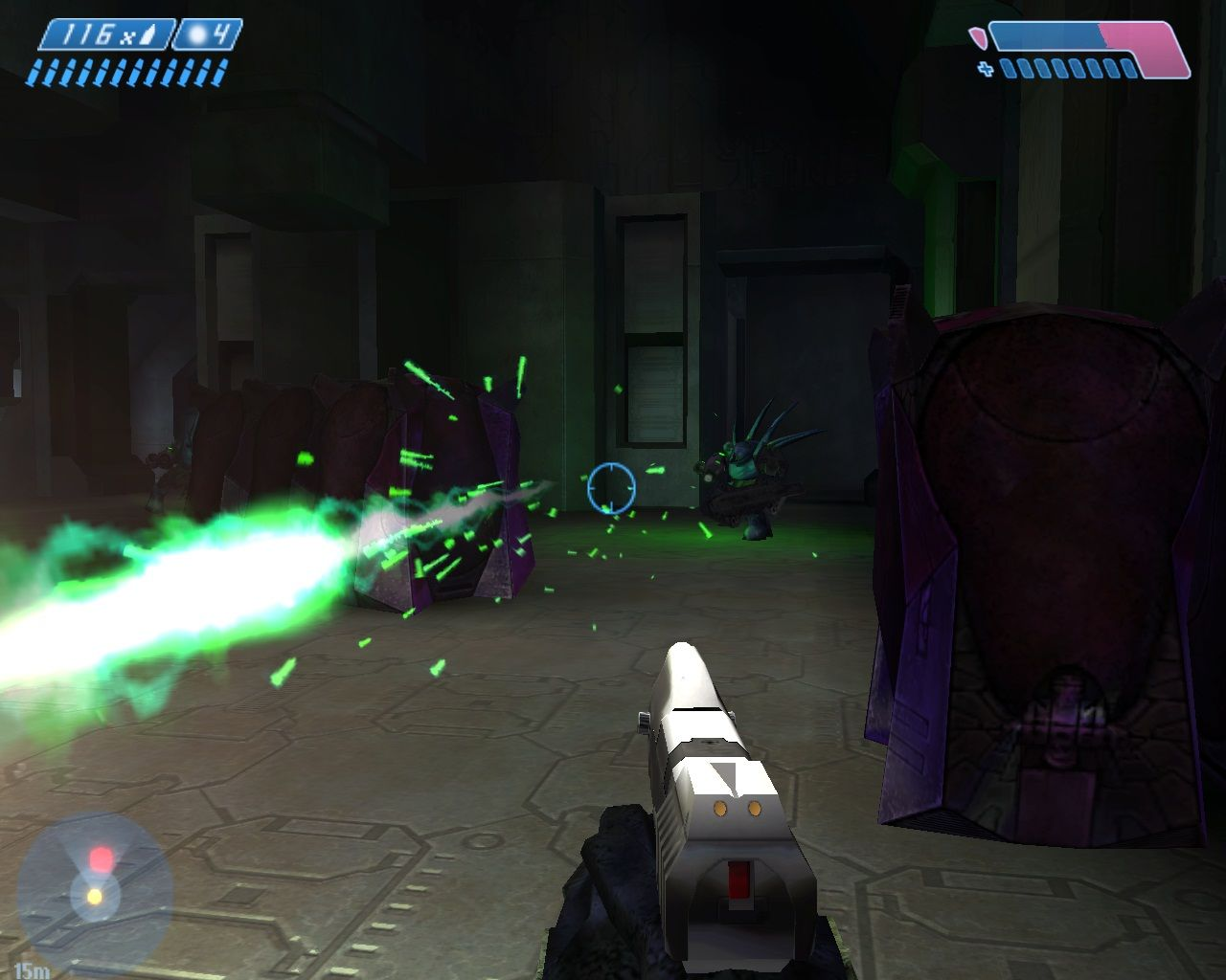 Halo: Combat Evolved Windows Hunters are bad news and always work in pairs.