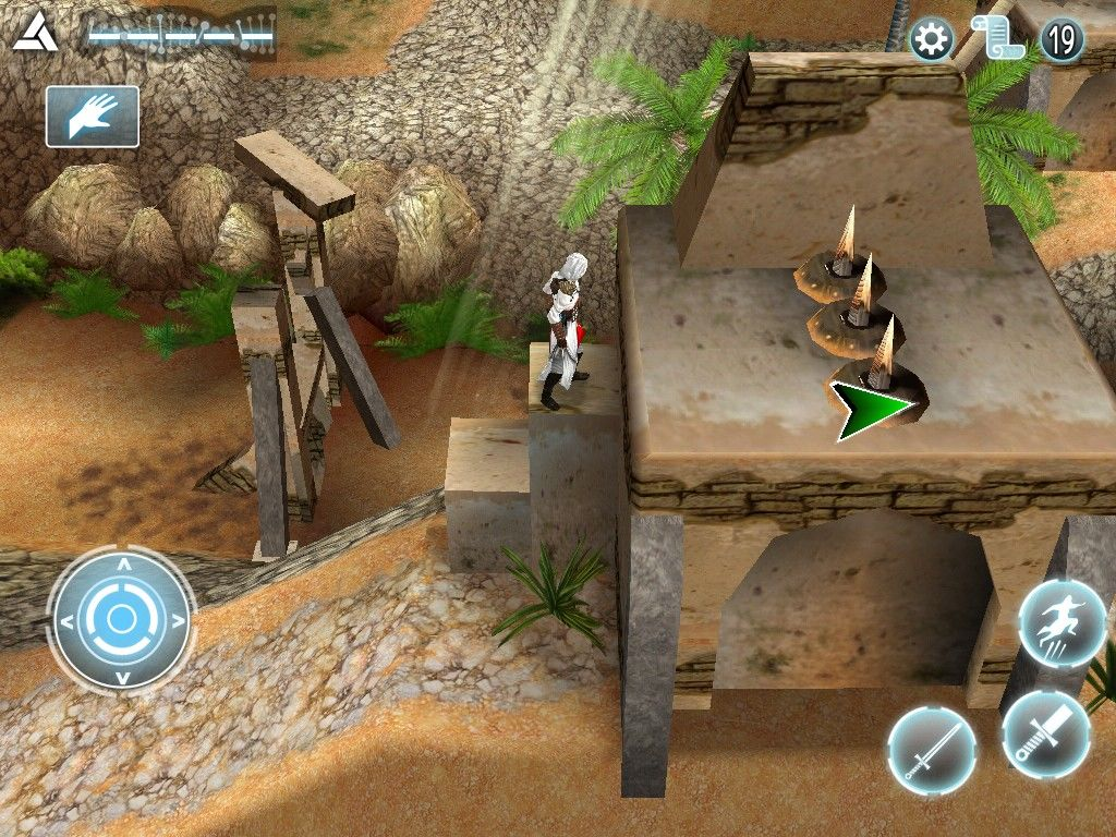 Assassin's Creed: Altaïr's Chronicles iPad Spikes