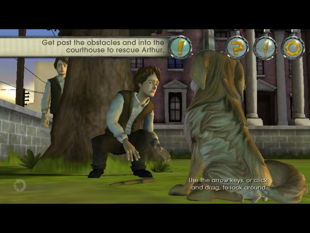 Back to the future the game episode 2 get tannen ipad current day