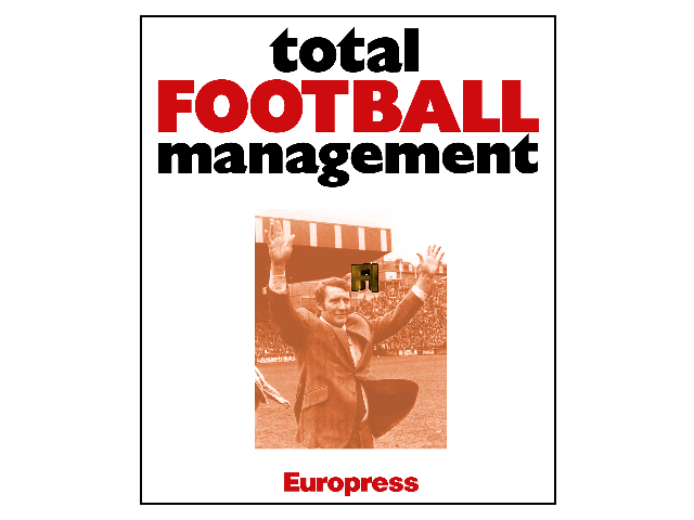 Total Football Management DOS Title screen