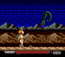Genocide TurboGrafx CD Boo!.. You scared me!..