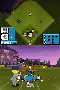 Backyard Baseball '09 Nintendo DS Choose the pitch you want...