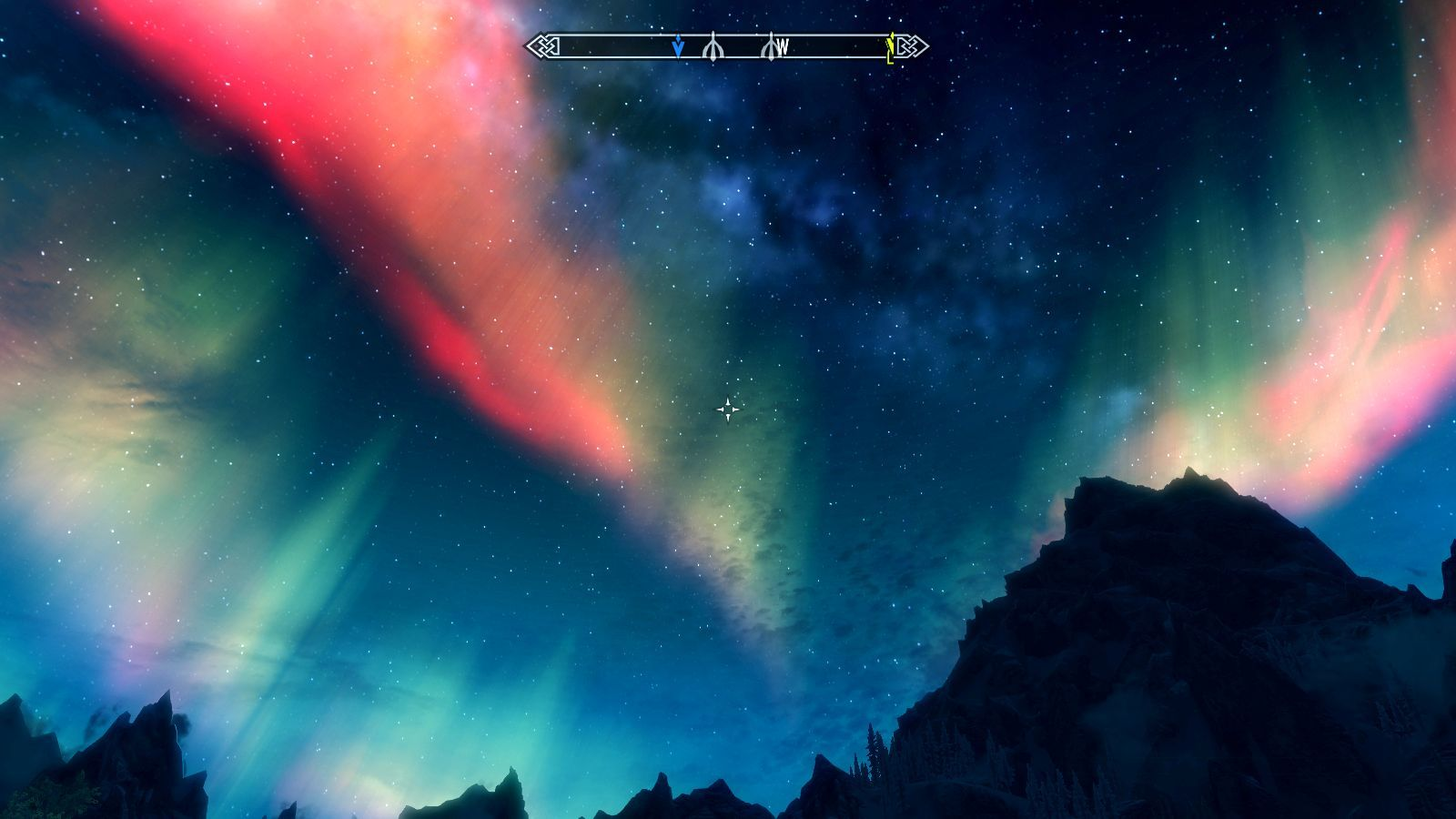The Elder Scrolls V: Skyrim Windows Aurora Borealis