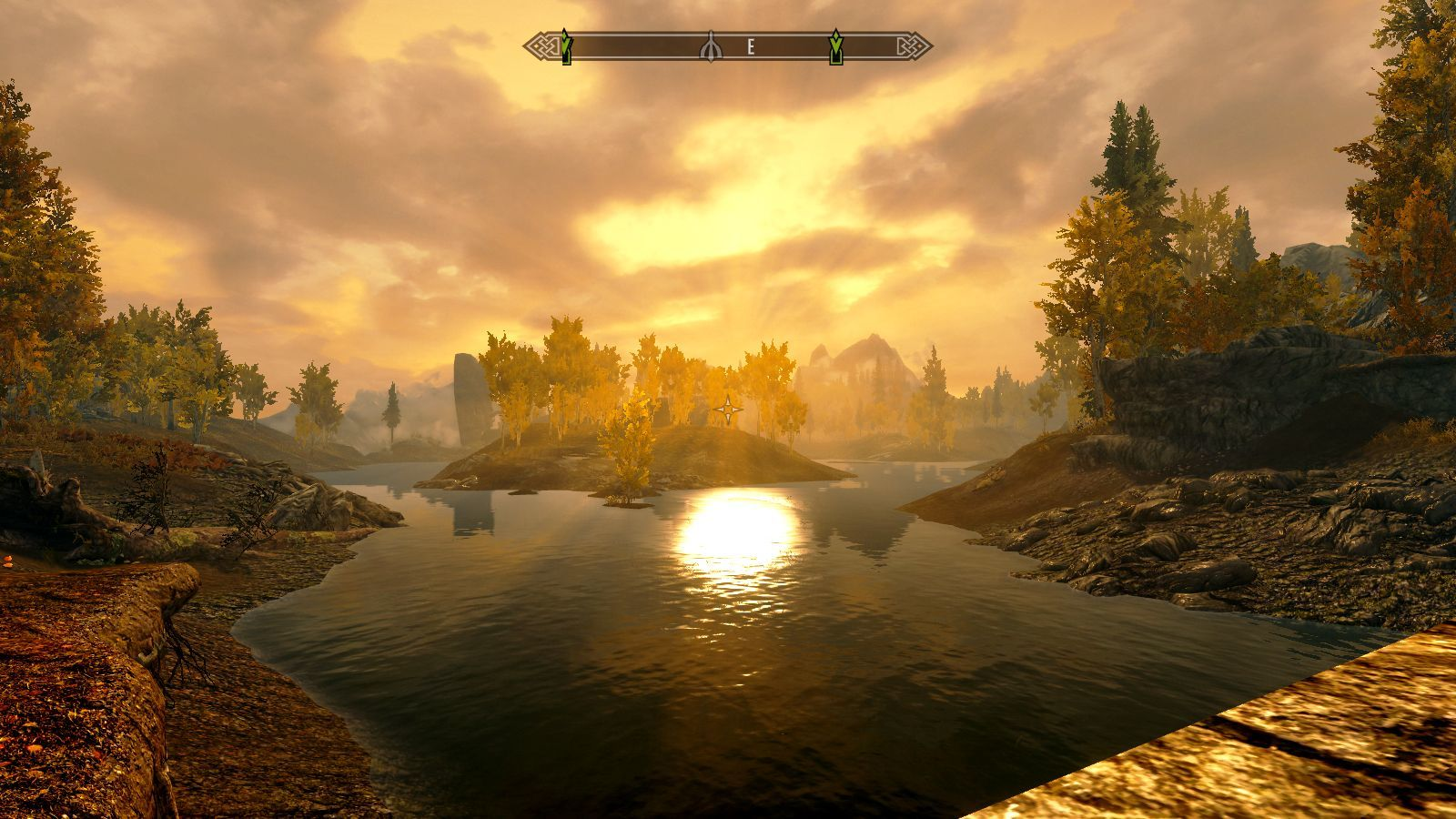 The Elder Scrolls V: Skyrim Windows Sunset