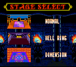 Mutant Fighters: Death Brade SNES Stage select