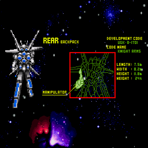 Knight Arms: The Hyblid Framer Sharp X68000 The protagonist...