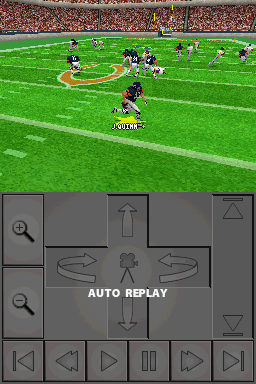 Madden NFL 2005 Nintendo DS You can go back and look at previous plays from any angle you want.