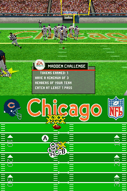 Madden NFL 2005 Nintendo DS As you complete challenges, you'll unlock madden tokens.