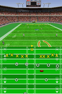 Madden NFL 2005 Nintendo DS After you score, you kick the ball away to the other team.