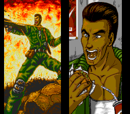 Psychic Storm TurboGrafx CD Joe looks pretty crazy :)