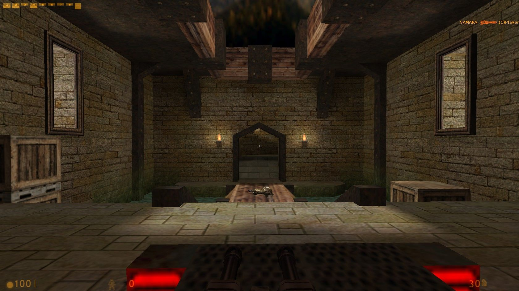 Deathmatch Classic Windows This map is directly modelled after one of the early Single Player stages from Quake