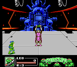 Teenage Mutant Ninja Turtles III: The Manhattan Project NES Shredder is about to...