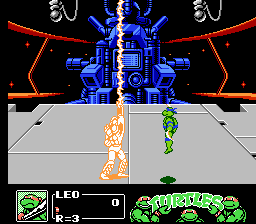 Teenage Mutant Ninja Turtles III: The Manhattan Project NES ...become the Super Shredder!
