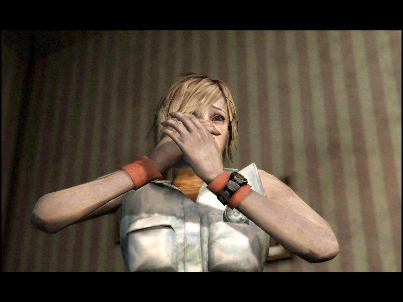 Silent Hill 3 Windows Heather, the best drama actress to ever hit the videogaming universe.