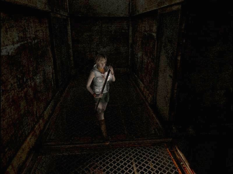 Silent Hill 3 Windows Oh yes, sports fans! Dark Silent Hill is back, with the rusty gratings floor we all love!