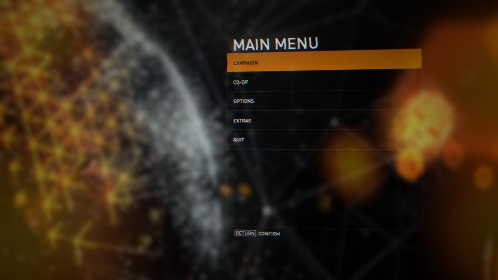 Syndicate Windows Main menu