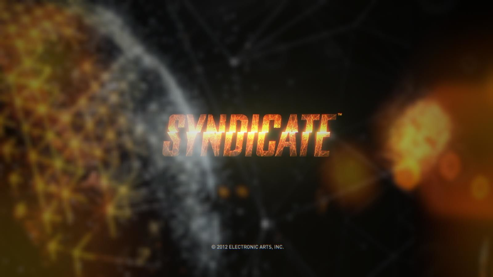 Syndicate Windows Title screen