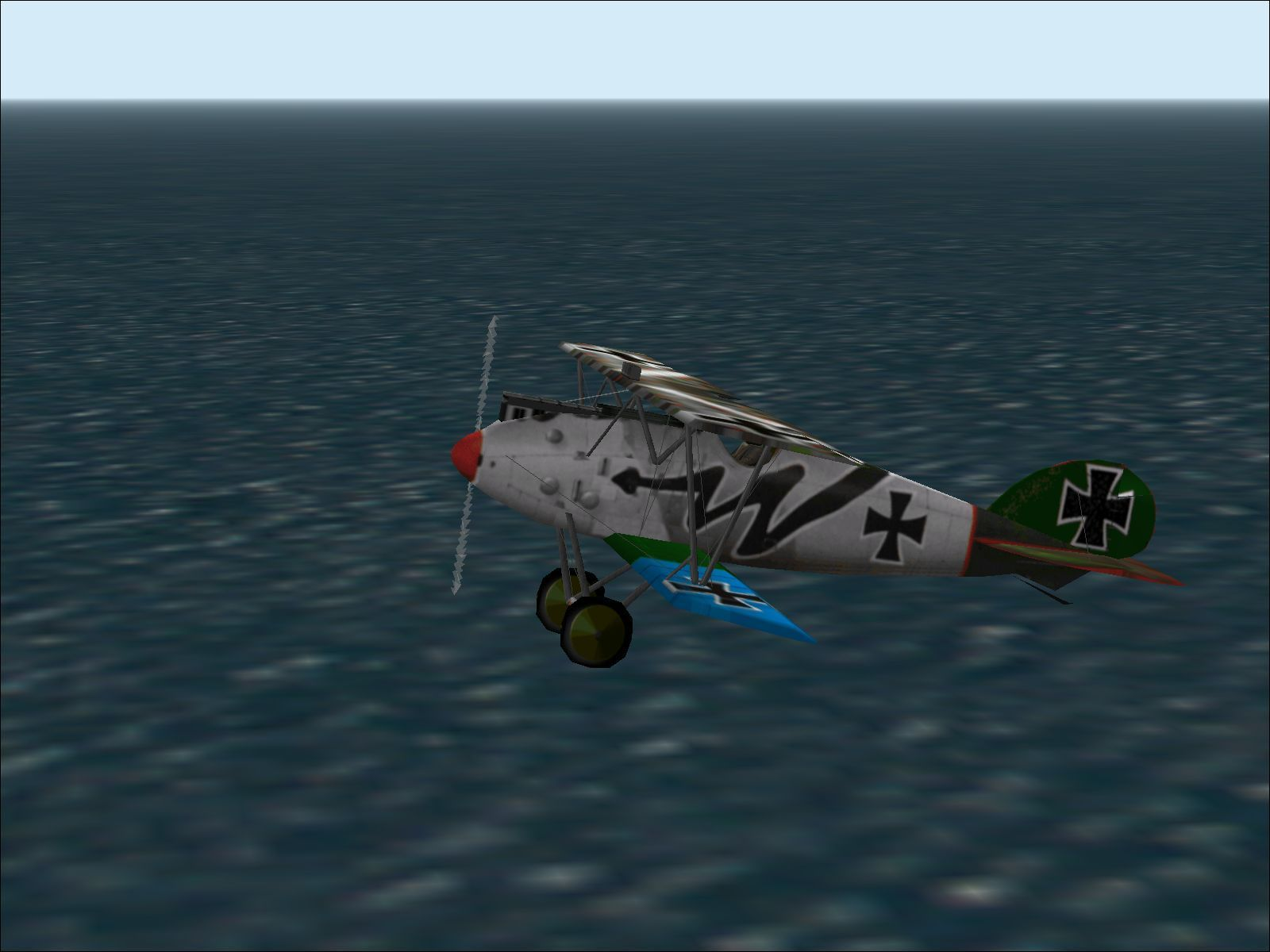 Luftwaffe Collection Windows This is the WWI Albatross D.Va in the livery of Jasta 5, Imperial German Military Aviation service, circa 1918