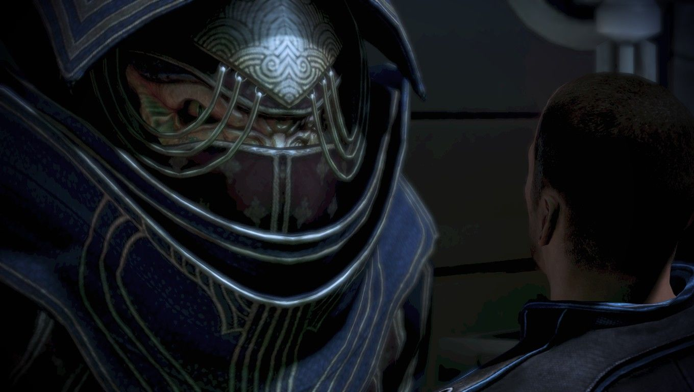 Mass Effect 3 Windows Is it just me or do Krogan females look like Bugs Bunny when he does the drag routine?