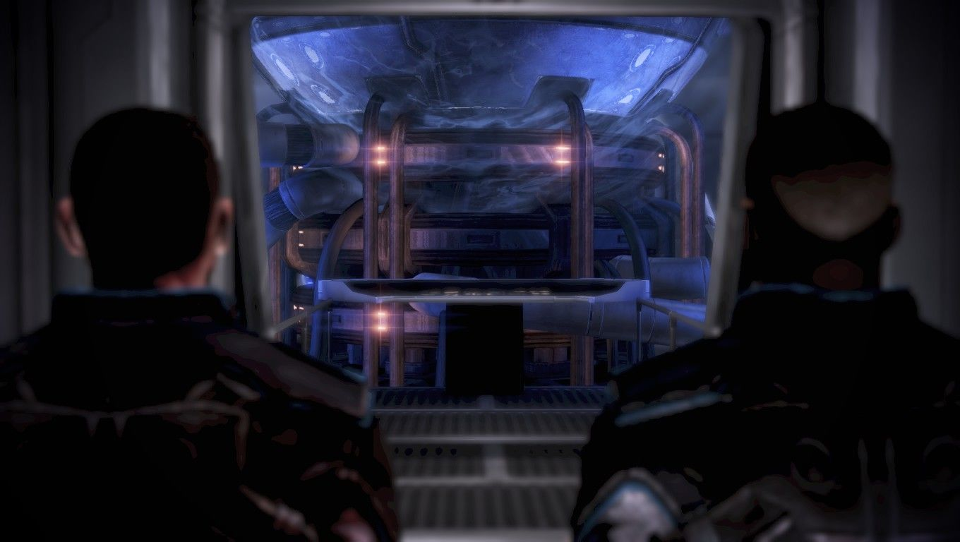 Mass Effect 3 Windows Checking out the engine