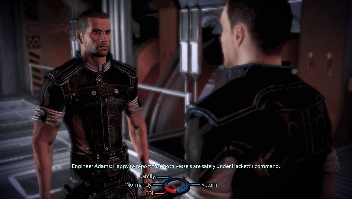 Mass Effect 3 Windows Conversations branch off into numerous other subjects and opinions.